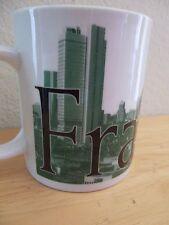 Starbucks Global Icon Collection Frankfurt Germany City Mug Cup Green 16 Ounces