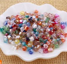 Free ship 55pcs  6mm AB crystal Bicone Beads Handmade Beads 47 color