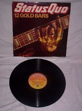 STATUS QUO, 12 GOLD BARS, (BEST OF UPTO) 1980, EXCELLENT CONDITION