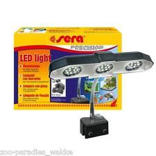 sera LED light Klemmlampe, Aufsteckleuchte 3 x 2 Watt, Aquariumbeleuchtung 31138