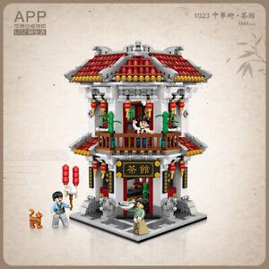 LOZ Teahouse Ancient Street (1023) Mini Nano Building Block
