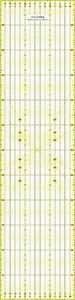 Altera Lineal 60x15cm, Patchwork- Quilt, Rollschneider-Lineal