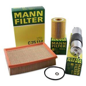 MANN-FILTERAir Fuel Oil Filters RAPKIT400 fits BMW 3 Series E46 330i 330Ci