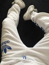 ☆—Adidas—White—Trackies—Tracksuit—Hip Hop—Pant—Scally—Chav—Jacket—Hoodie—Bottoms
