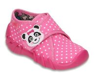 BEFADO girls canvas shoes nursery slippers trainers NEW size 8UK BABY GIRL