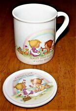 Hallmark - Betsy Clark - Mug-Mates Cup & Lid 1983 Friends Make Your Day Brighter