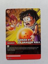 Carte Dragon ball Z Gohan Et La Dragon Ball DB-316