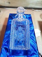More details for engraved  royal hong kong police crystal spirit decanter.