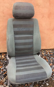 84-88 Toyota Pickup Turbo 4runner Seat Headrest Grey OEM Hilux Truck SR5