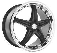 18x9.5 Privat Profil 5x120 +25 Gloss Black Wheels (Set of 4)