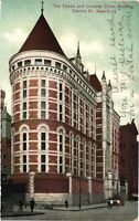 Vintage Postcard - 1908 The Tombs And Criminal Court Building New York NY #3423