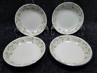 """Sheffield Fine China Classic 501 Berry Bowls 5 1/2"""" Set of 4 Excellent"""