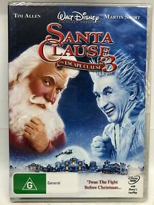 Santa Clause 3 - The Escape Clause - DVD - AusPost with Tracking - New Sealed
