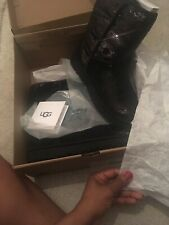 100% Genuine Classic Sequin UGGs UK 5 Nearly New Worn Once (1 Hours Only) Black