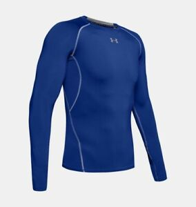 Under Armour Men's HeatGear Compression Top Long Sleeve Small