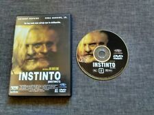 DVD INSTINTO - ANTHONY HOPKINS - CUBA GOODING JR - JON TURTELTAUB - INSTINCT