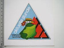 Aufkleber Sticker WDR - Rundfunk - Radio - aktuelle Stunde - UKW (M1754)