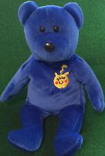 "POKEMON ""PIKACHU"" 2000 Navy Blue TEDDY BEAR Bean Bag Plush Toy 8"" GO!"