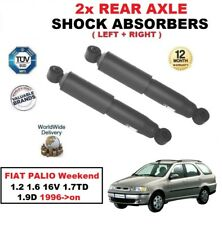 REAR AXLE SHOCK ABSORBERS for FIAT PALIO Weekend 1.2 1.6 16V 1.7TD 1.9D 1996->on
