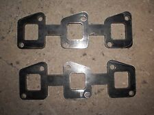 FORD MAVERICK  NISSAN PATROL TB42 EXTRACTORS HEADERS MANIFOLD PLATES 10mm  THICK