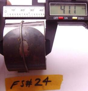 FS#25 fUSEE MOVEMENT CLOCK MAIN SPRING  / mainspring approx depth 41.8mm