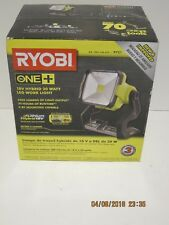 Ryobi One+ P721 18V 20-W LED Work Light Dual Power Hybrid 20WATT NISB(NOT P720)!