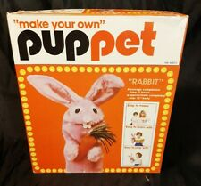 Nos Vintage Hazel Pearson Make Your Own Puppet Molly Munch Rabbit Free Shipping
