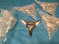 Cragar Wheel Center Cap S/S Series Wheel 3 Prong Spinner Cap New Set Of 4