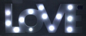 Marquee Letter Sign - Love - LoVE - LED Illuminated