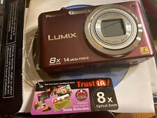 New Lumix FH20 14.1MP HD Digital Camera Violet