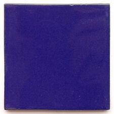 "Handbemalte Fliesen ""Kobaltblau"" aus Mexiko, Kacheln, ca. 10x10cm"