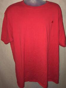 Red Champion Tee Shirt 2XL