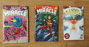 DC Comics Mr. Miracle book set