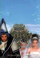 Final Fantasy 10 X Art Museum Trading Card 7-11 S Ed 1 S-25 Yuna & Seymour Image