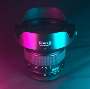 Used Manual Meike 12mm f/2.8 Wide Angle Lens for M4/3 Mount