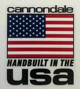 Cannondale Handbuilt Decal