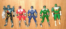 Power Rangers Zeo Action Figure Lot Vintage 1995 Bandai Red Blue Green