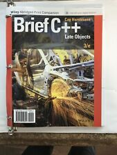 Brief C++ Late Objects 3rd Edition (Abridged Print)