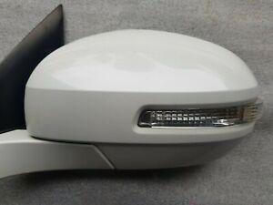 SUZUKI SWIFT / SPORT FZ 2/2011- 6/2017 Genuine L/H Door Mirror, White, Code ZMT