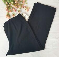 Bob mackie 1x new black Pants NWT womens plus size elastic waist dress pants