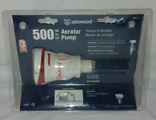 """Attwood 4643-7 500 GPH Livewell Replacement Cartridge Aerator Pump 3/4"""" NPT 12v"""