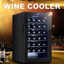 28 Bottles Thermal Electric Wine Cooler Fridge Bar Rack Cellar Cabinet Chiller