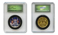 TONY ROMO Dallas Cowboys Colorized JFK Half Dollar U.S. Coin in Slabbed Holder