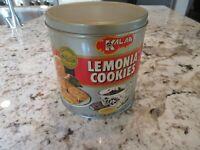RARE kalar lemonia cookies tin Nice