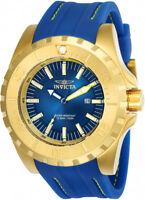 Invicta Men's Pro Diver 100m Gold Tone Stainless Steel Polyurethane Watch 23736