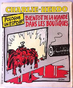 """Charlie Hebdo N°510 du 20/8/1980; Coluche """"Journal des cons et mal comprenant"""""""