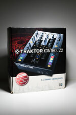 Native Instruments Traktor Kontrol Z2 with Vinyl and Accessories in Original Box