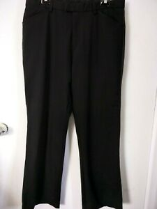 Mens Black Tuxedo Pants with Satin Side Strip River Island 34