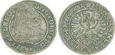 Altdeutschland 3 Kreuzer 1661 Schlesien Liegnitz Brieg Georg III   49327