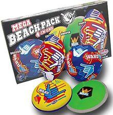 Wahu BMA556 Mega Beach Pack Set - Football Soccer Ball Frisbee Frisc Groova Disk